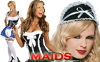 Maid Costumes - French Maids Costumes - Sexy Maids, Waitress Costumes, Beer Girl Costumes
